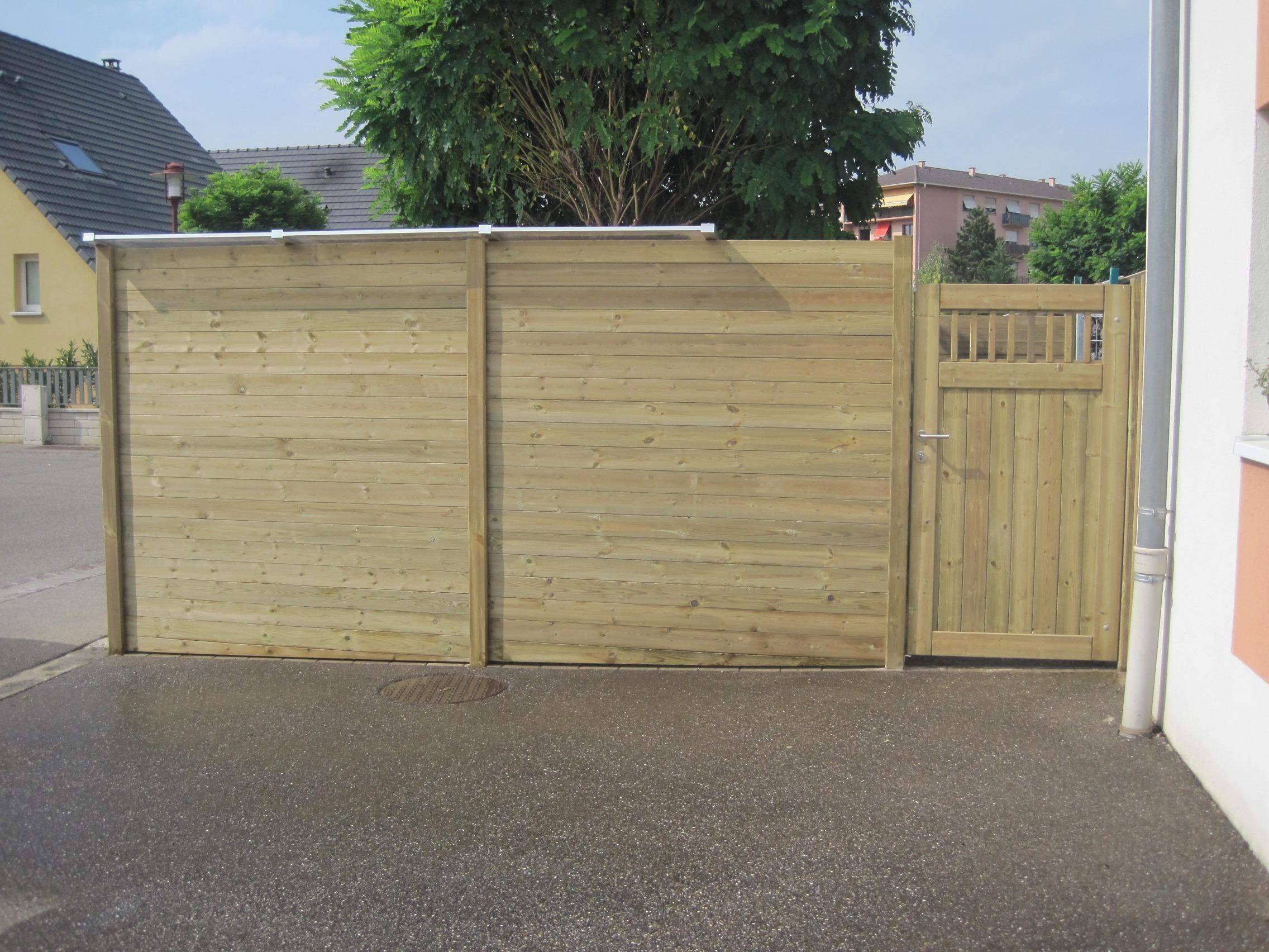 Réalisation d'une clôture